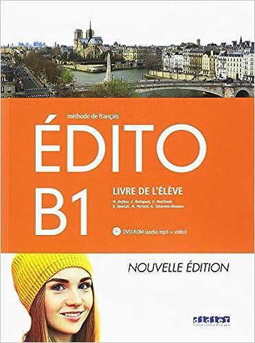 Resultado de imagen de edito b1 nouvelle edition ed. didier 2018