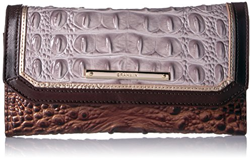 Brahmin Women's Soft Wallet Checkbook Cover, Quill, One Size by Brahmin