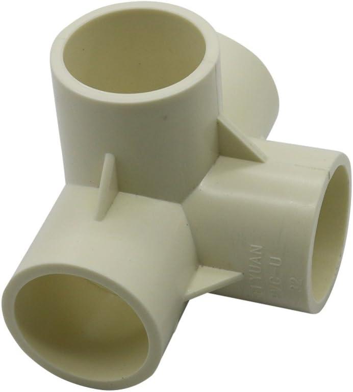 Kamas - Conector en Forma de T Tridimensional de 20 mm, 25 mm, 32 ...