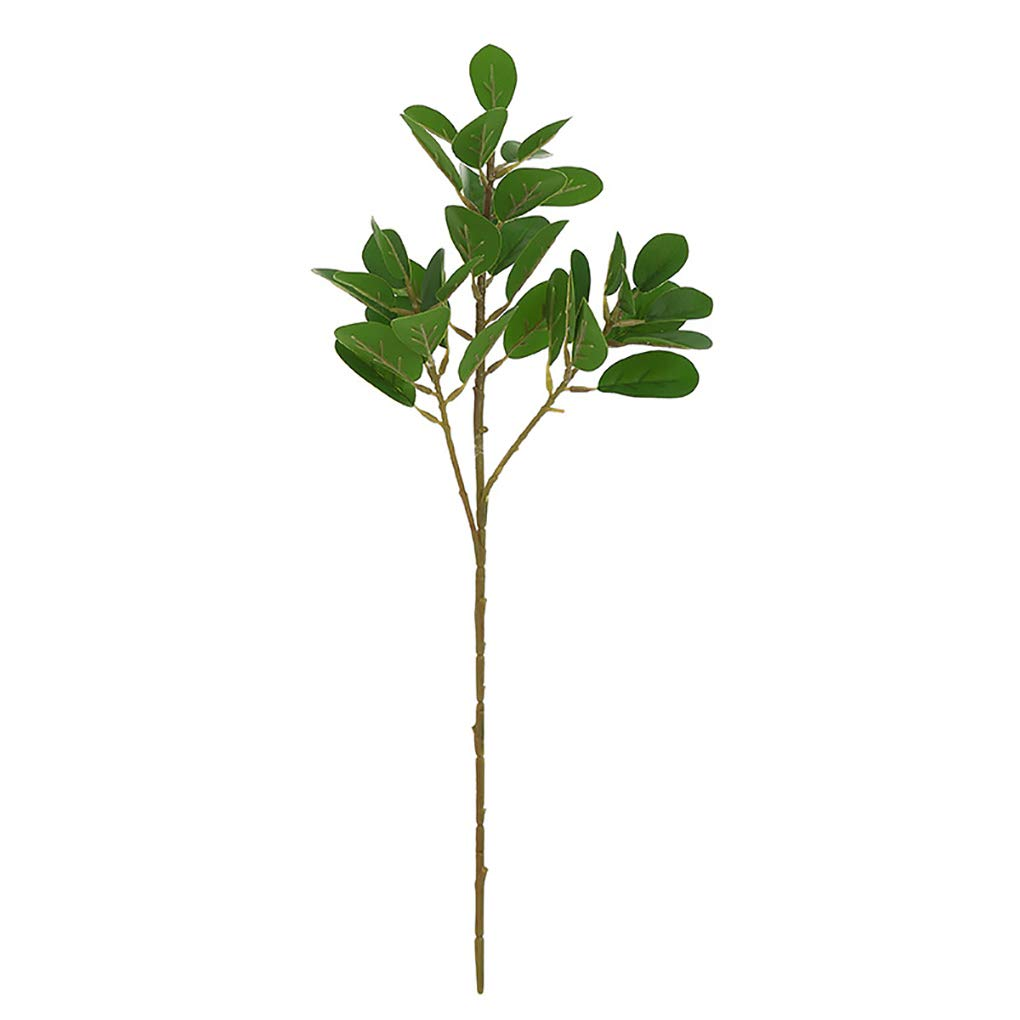 Zerama Artificial Home Indoor Pot Plant Decorations Simulation Leaf Fake Household Ornaments