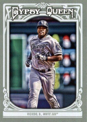 2013 Topps Gypsy Queen Baseball Card IN SCREWDOWN CASE #203 Dayan Viciedo ENCASED