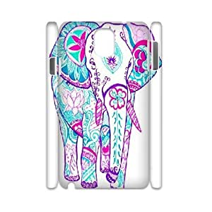 kimcase Custom Indian Elephant 3D Cover Case for Samsung Galaxy Note3 N9000