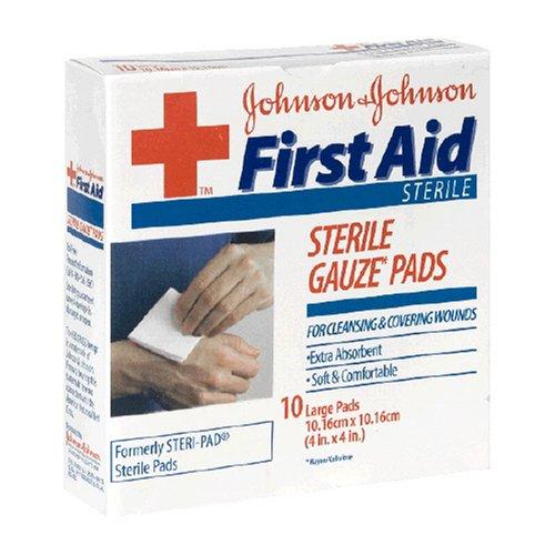 Amazoncom Johnson Johnson First Aid Gauze Pads 4 X 4 Inch 10