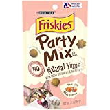 Cheap Purina Friskies Party Mix Natural Yums With Real Salmon Cat Treats – (10) 2.1 oz. Pouches
