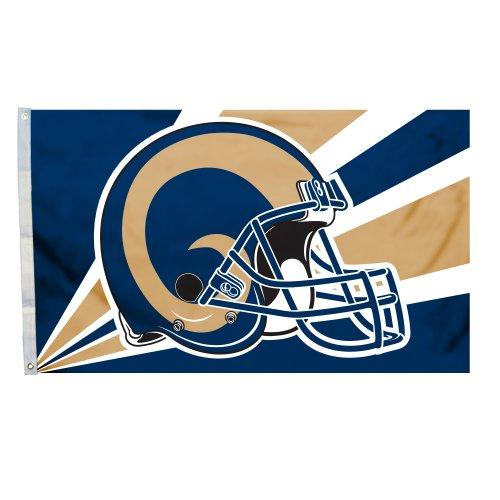 Fremont Die NFL Los Angeles Rams Popular Helmet Design Flag,