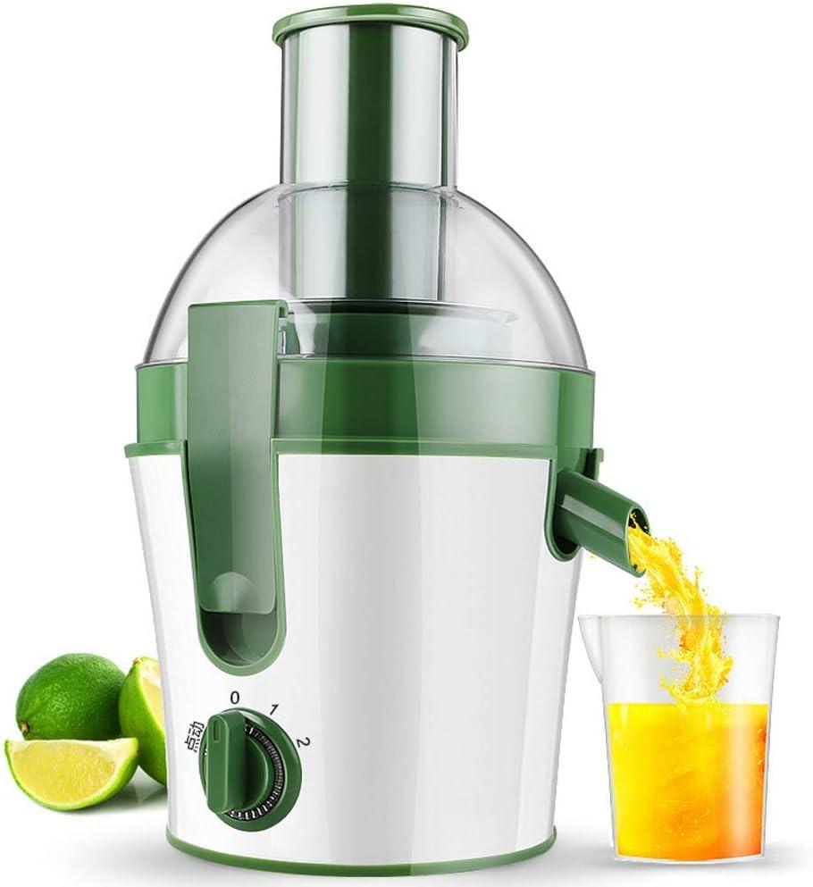 XUE Exprimidor eléctrico Máquina para Hacer Jugo de Frutas/Verduras Extractor de Jugo Procesador de Alimentos
