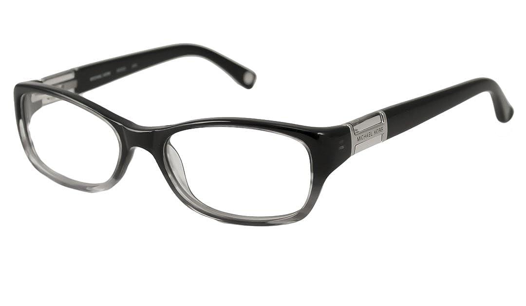 77f9f7d69260 Amazon.com: Michael Kors Eyeglasses MK252 46 Black Gradient Demo 50 16 130:  Clothing
