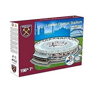 Nanostad 3865 West Ham United Da Londra Stadium 3d Puzzle