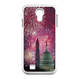 Brilliant fireworks Design Discount Personalized Hard Case Cover for SamSung Galaxy S4 I9500, Brilliant fireworks Galaxy S4 I9500 Cover