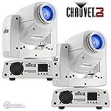 Chauvet DJ Intimidator Spot 255 IRC 60 W LED Moving Yoke Head DMX Light (2 Pack)