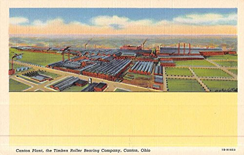 Canton Ohio Plant Timken Roller Bearing Co Antique Postcard K48450