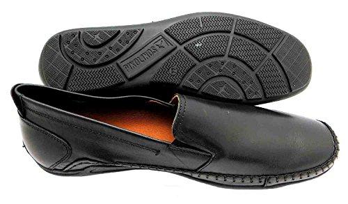 Pikolinos Azores 06h-5303 - Mocasines de piel para hombre negro negro