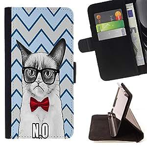 King Case - FOR Samsung Galaxy S5 Mini, SM-G800 - She is beautiful - Prima caja de la PU billetera de cuero con ranuras para tarjetas, efectivo Compartimiento desmontable y correa para la mu?eca