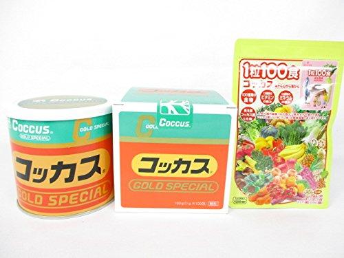 コッカスゴールドスペシャル1缶+「1粒100食コッカス」1袋付セット B0154FZVVS