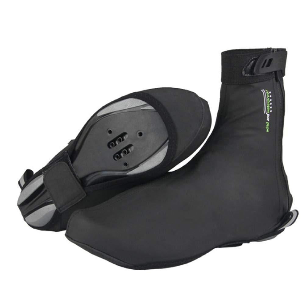 Cathy02Marshall Couvre-Chaussures Imperméable Couvre-Chaussures Velo Couvre Chaussure De Cyclisme Coupe-Vent, Imperméable Et Anti-poussière pour L'équitation en Plein Air