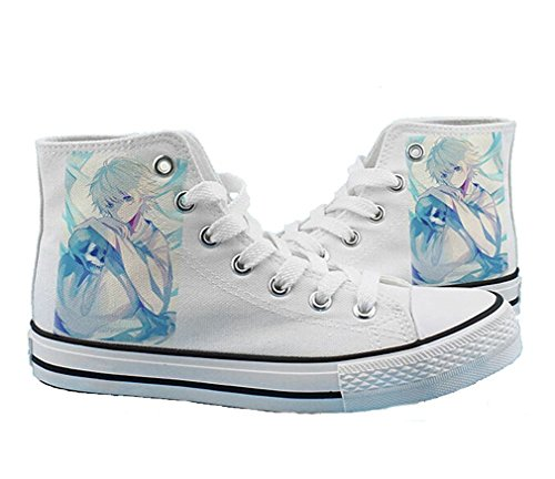 Bromeo Noragami Unisexe Toile Salut-Top Sneaker Baskets Mode Chaussures
