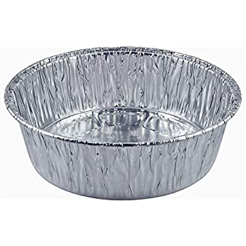 Amazon Com 10 Inch Round Disposable Aluminum Foil Pan