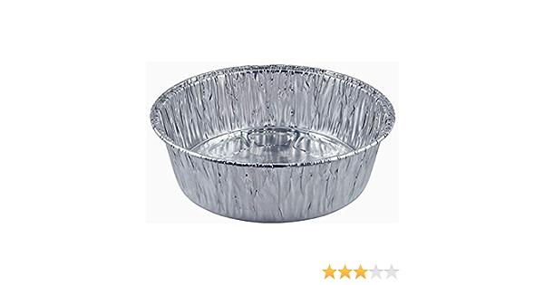 YARNOW 20 St/ück Aluminiumfolienpfannen Einweg-Folienpfannen mit Deckel Alufolienpfannen Lebensmittelablage f/ür Backofen Toaster Kochheizung Lagerung Silber 229X170x46mm