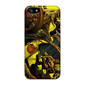 New Style Chenzong Girl The Dragon Premium Tpu Cover Case For Iphone 5/5s
