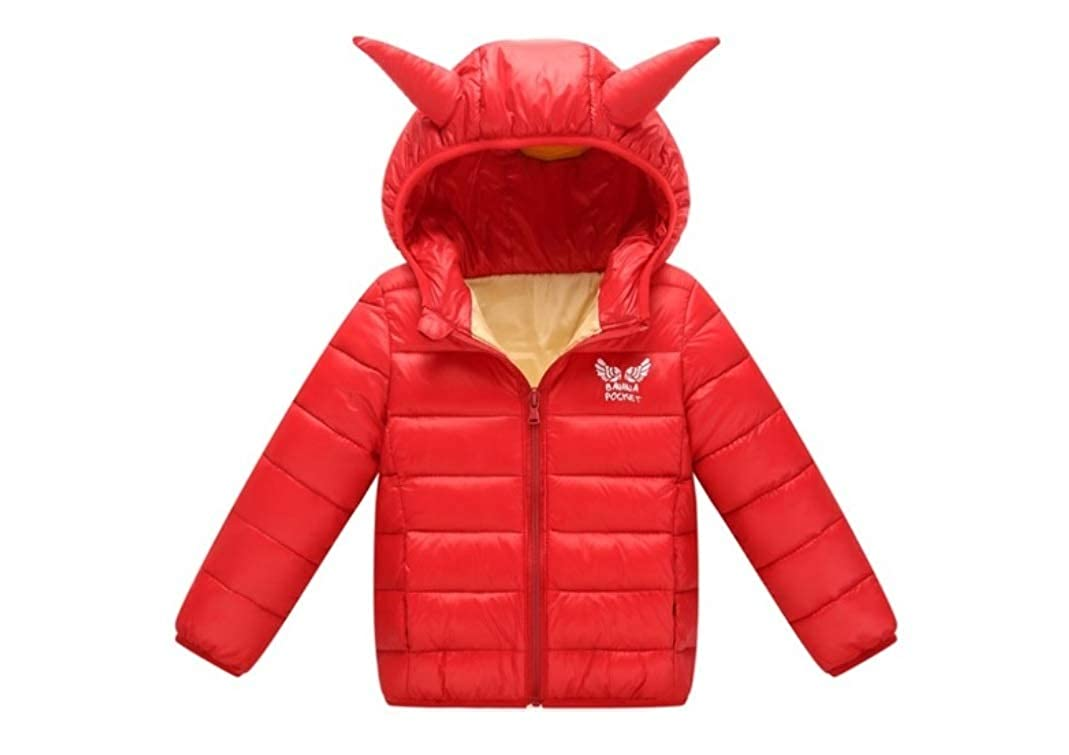 28621b8b14d85 Amazon.com  Stesti Winter Coat for Toddler Girls Red Jackets Bow Winter  Jacket for Girls  Clothing