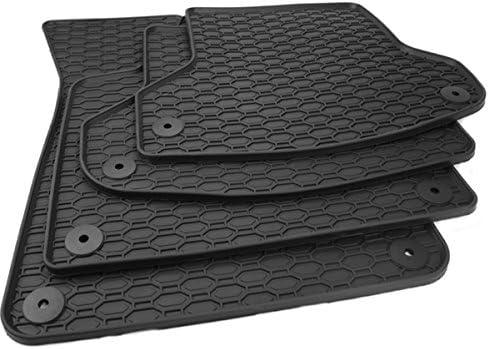 All4you Gummimatten Premium Qualität Fußmatten 100 Passgenau Schwarz Gummi 4 Teilig Fahrzeugspezifisch Auto