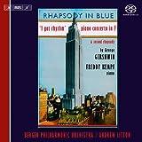 ガーシュウィン: ラプソディ・イン・ブルー(オリジナル・ジャズバンド版) 他 (George Gershwin : Rhapsody in Blue, I got rhythm, Piano Concerto in F, Second Rhapsody / Freddy Kempf) [SACD Hybrid] [輸入盤]