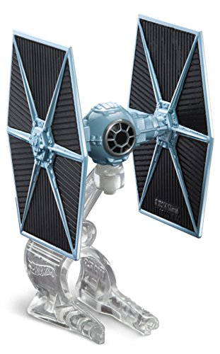Price comparison product image Hot Wheels Star Wars Starship Blue TIE Fighter Vehicle