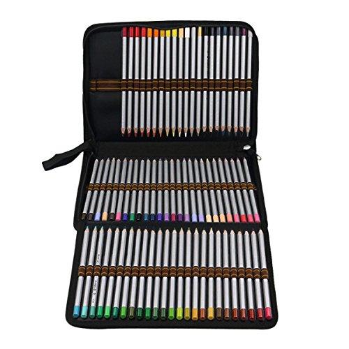 Color You 72 Colored Pencil Case Holder 3-Layer Artist Penci