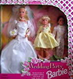 1994 Wedding Party Barbie Giftset with Stacie and Todd, Baby & Kids Zone