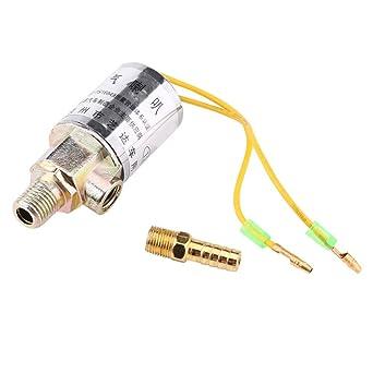 12v air horns & air ride systems solenoid valve 1/4inch metal ...  amazon.com