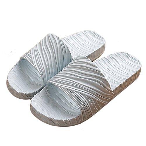 Femmes Piscine De Slip Douce Minetom Mule Extrieure Bleu femme Bascule C Hommes D'eau Chaussures Maison Unisexe Sandales Semelle Intrieure Douche On Pantoufles 60qdqw