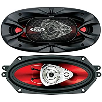 BOSS Audio CH4330 Car Speakers - 400 Watts Of Power Per Pair And 200 Watts Each, 4 x 10 Inch, Full Range, 3 Way, Sold in Pairs, Easy Mounting