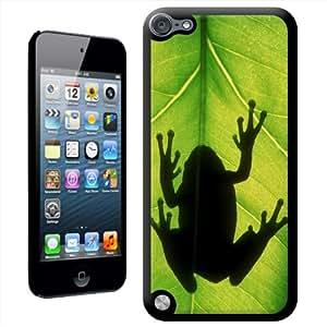 Fancy A Snuggle 'gris de silueta de' carcasa para Apple iPod Touch 5th generación