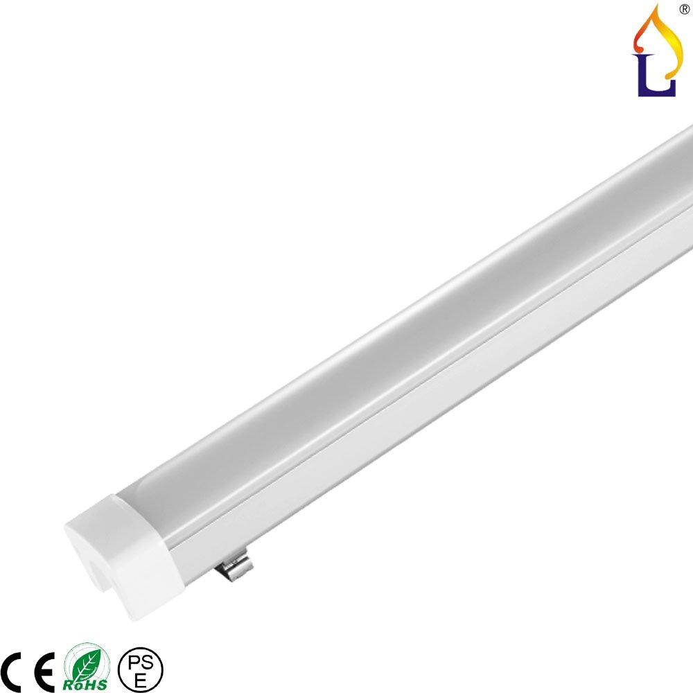 ( 6パック) 40 W 900 mm防水tri-proof照明3 ft高電源0.9 M LED tri-proofランプsmd2835 for Car Wash、食品、処理、工場Tri Proofライト B01N2UNL91