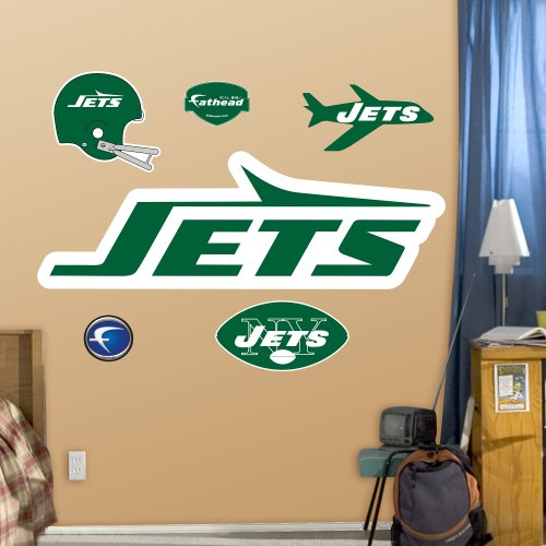picture of NFL New York Jets Classic Logo Wall Graphics