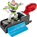 Toy Story 4' Slam 'N Launch Buzz Lightyear with Skateboard Figure