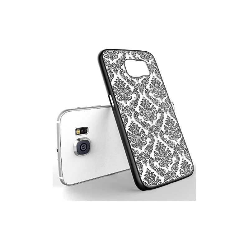 LA GO GO Galaxy S6 Case, Beauty Damask L