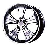 Aoshima 54659 Tuned Parts 74 1/24 Bersaglio Spoke III MF 20inch Tire & Wheel Set