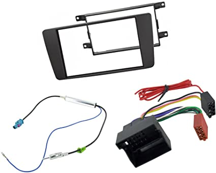 To Fit RR Sport 2004 on Car Stereo Double Din Kit and ISO adaptor