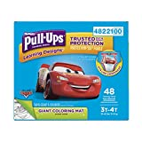 Health & Personal Care : HUGGIES Pull Ups Learning Designs Big Pack, 3T-4T Boy, 48 Count, Packaging May Vary