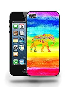 Aztec Tribal Space Elephant Hipster Pattern Phone Case Cover Designs for iPhone 4