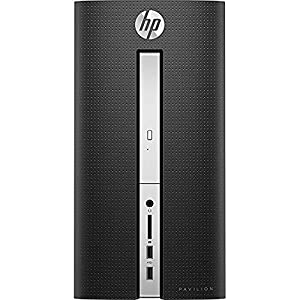 HP Pavilion 510 Flagship High Performance Desktop, Intel Core i7-6700T Quad-Core 2.8GHz, 12GB DDR4 RAM, 2TB 7200RPM HDD, DVD +/- RW, 802.11ac, HDMI, Bluetooth, VGA, Windows 10