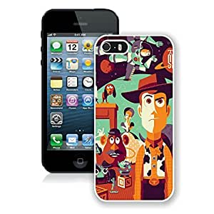 Fashionable Toy Story iPhone 5 5s 5th Generation Case in White