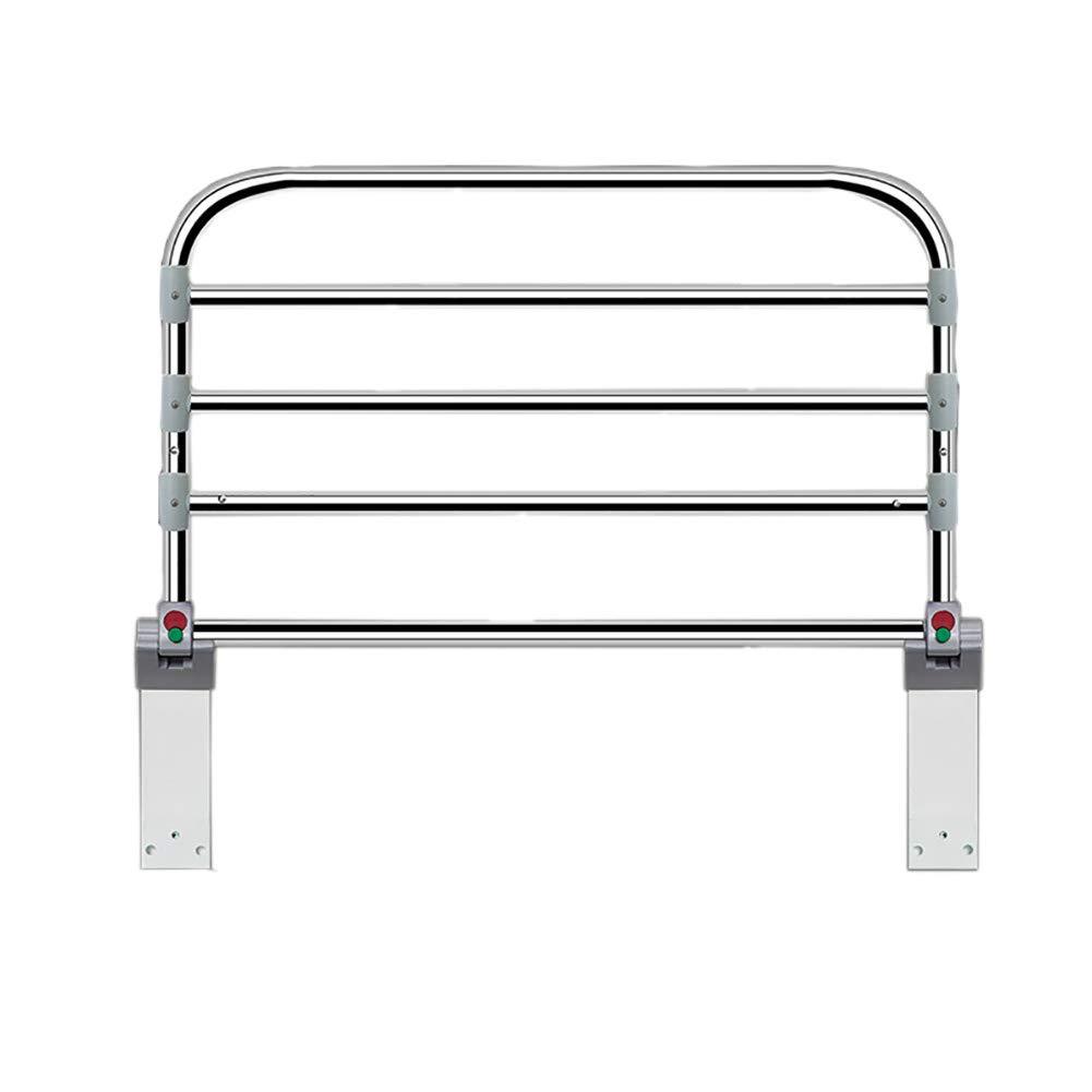 ベッドフェンス 大人用ベッドレール、調節可能なホームセーフティサイドガード、高齢者用補助ハンドル、ハンディキャップのベッド手すり、ステンレス鋼管 (サイズ さいず : Length 60cm) Length 60cm  B07MJ3F2ZN