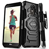 LG Stylo 3 / LG Stylo 3 Plus Case, Evocel [New Generation Series] Belt Clip Holster, Kickstand, Dual Layer for LG G Stylo 3 (LS777) / LG G Stylo 3 Plus (2017 Release), Black