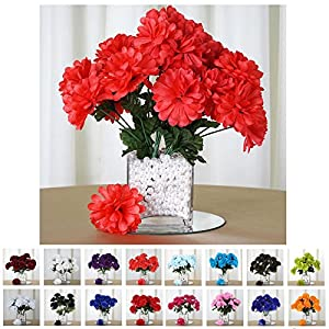 Efavormart 84 Chrysanthemum Mums Balls Artificial Wedding Flowers for Centerpieces Decor 22