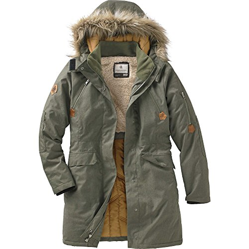 Quilted Winter Parka - 1