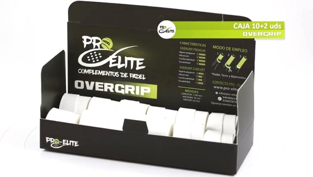 overgrips Pro Elite Confort Perforados (Elige Tus Colores). Caja ...