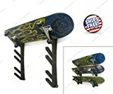 ZaZaTool Skateboard Ski Snowboard Tool Garage Wall Rack Storage Display Mount Holder