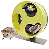 Exotic Nutrition Silent Runner 12'' Wide - Pet Exercise Wheel + Cage Attachment